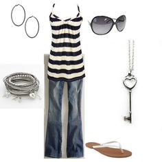 Spring Day Out, created by sherrylynn84 on Polyvore