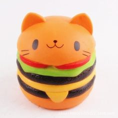 Share and Get It FREE Now   Join Gearbest     Get YOUR FREE GB Points and Enjoy over 100,000 Top Products,Cute Burger Cat Ultra Soft PU Foam Squishy Toy