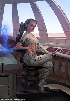 Star Wars: Padme Amidala by Legendarysid.deviantart.com on @DeviantArt