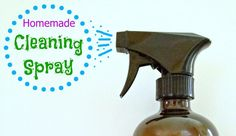 Want an easy DIY All-Purpose-Cleaner recipe that's homemade, all-natural, includes Essential Oils (EOs), safe, effective, cheap and fabulous?- Here it is!