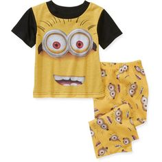 """All clothes should be 3T since he will be 3 in February. Despicable Me . He loves """"ba dah"""""""