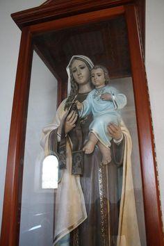 Virgen del Carmen, Parroquia de san Juan de Tibás, San José, Costa Rica