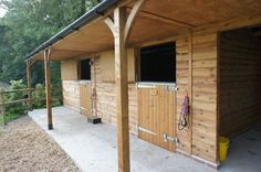 Stable Blocks - Stables & Covered Walkway - Equestrian buildings - Horse Stables