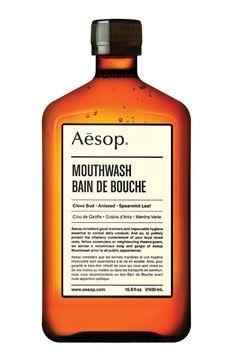 Aesop Mouthwash For Valentines Day (Vogue.com UK)