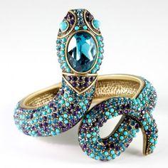 """Spectacular Serpent"" Bracelet by Heidi Daus"