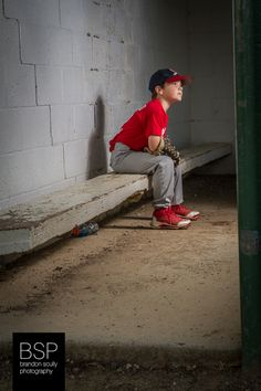 Little league baseball youth sports portrait photography, strobist, flash photography
