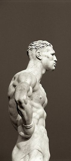 Italian Art ~ #Statue, Foro italico, stadio dei marmi, #Roma, Italy.