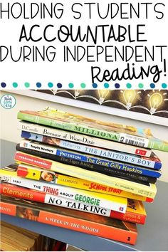 Teachers, are you looking for engaging ways to hold your students accountable during independent reading during Daily 5 or Readers Workshop and meet the common core standards? Read my free tips, tricks and strategies to hold your kids accountable during small groups, book clubs, independent reading, silent reading, and any time they pick up a book! Help kids track as they read a variety of texts in your classroom. Ideas great for upper elementary and middle school classes. Click to read more!