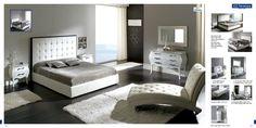 Contemporary Bedroom Furniture With Bedroom Design Also Modern Bedroom Furniture Shiztk Glamourous Bedroom, Elegant Bedroom, Leather Bedroom, Modern Bedroom Furniture, Stylish Bedroom, Minimalist Bedroom, King Bedroom Sets, Contemporary Bedroom Furniture Sets, White Bedroom Design