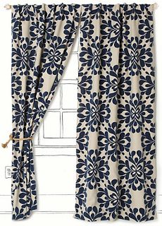 Grommet curtains pattern grommet curtain single - 1000 Ideas About Navy Blue Curtains On Pinterest Navy