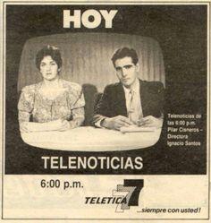 Pilar Cisneros e Ignacio Santos anos 80s