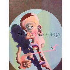 """16""""x20"""" Giclee Print of """"Pulling my Tongue"""" by DavidTaborga on Etsy https://www.etsy.com/listing/223690861/16x20-giclee-print-of-pulling-my-tongue"""