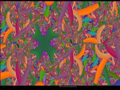 Jungle is a Mess Fractal Images, Fractals, Math, Painting, Design, Mathematics, Math Resources, Paintings