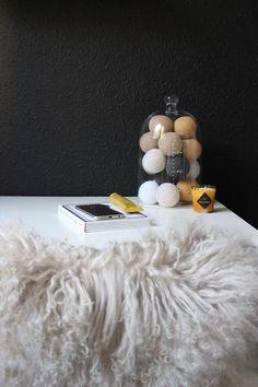 *cotton ball lights* (Posts by Lucie Jandlová) Cotton Ball Lights, Posts, Home, Messages, Ad Home, Homes, House