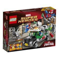 Upcoming #Lego #Marvel Super Heroes - Doc Ock Truck Heist set