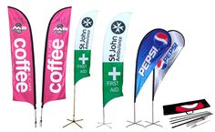 We offer a wide range of #Flags for your business needs.  Call1-800-516-7606 To Order Now! #PrintEarly #FlagPrinting