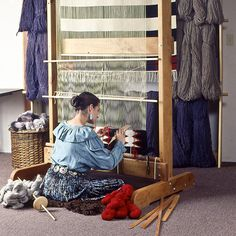 Large Navajo Loom | WEAVING SOUTHWEST | Taos New Mexico