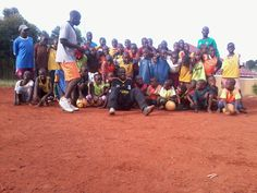 At this age I was not good like these kids here!, what I've seen here kids are talented that give hope for Uganda to have new soccer stars from here really this wonderful to see an organization with every good coaches which helped me alot to get learn soccer, I thank this organization to have heart to heart others who are in need and to make them away which can help them in their future because soccer can change life, these kids need all our support to reach their dream said Yusuf Mukisa