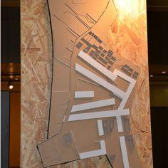 Pormenor da exposição no Lusíada Open Day 2014.