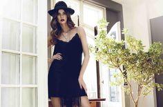 One Shoulder, Shoulder Dress, Cherry, Black, Dresses, Fashion, Vestidos, Moda, Black People