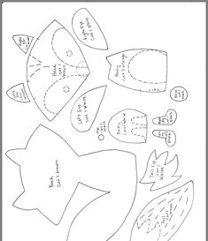 Principito Felt Animal Patterns, Felt Crafts Patterns, Stuffed Animal Patterns, Stuffed Animals, Needle Felted Animals, Felt Animals, Needle Felting, Softie Pattern, Fox Pattern