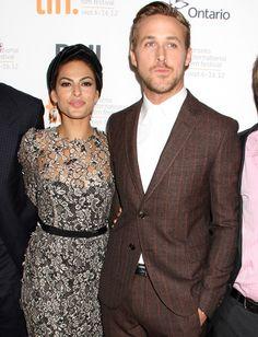 """Le couple Eva Mendes-Ryan Gosling est à l'affiche du nouveau film de Derek Cianfrance, """"The Place Beyond The Pines"""""""