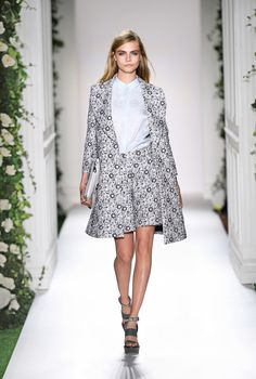 Look 1: Mulberry Spring Summer 2014 #LFW