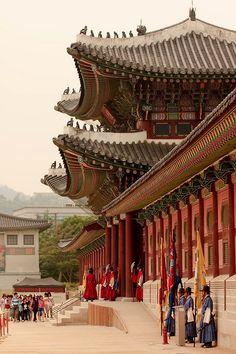 Gyeongbokgung Palace in Seoul, Korea. http:// RetireFast.info - #WhatIsTheBestMountanBike