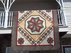 Beautiful Quilt made by Amish