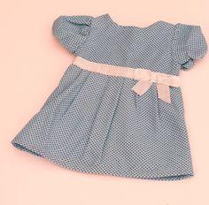Vintage Style Doll dress