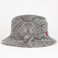 Vans Zio Z Mens Bucket Hat (€18) ❤ liked on Polyvore featuring men s 5249d33e5207