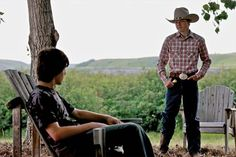 Badger (Jack Knight) Jake Anderson (Jake Church). Two of the hottest guys in heartland.