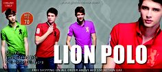 UAE Online Shopping Newsflash!  Lion Polo - AED 70  http://giordano-me.com/User/ProductList.aspx?gust=0=76  Free shipping on all order above AED 150 within UAE  Shop Now! :)