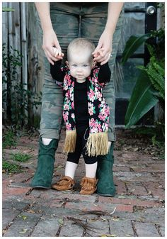 How cute is this baby kimono? Perfect for boho winter layering......baby girl outfits are my fav!