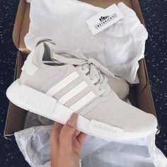 Grey adidas.