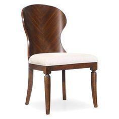Hooker Furniture Palisade Wood Back Side Chair - Set of 2 - HOOK3450, Durable