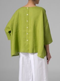 Yummy. green top. While this image is no longer on the Vivid Linen site check out their other items.
