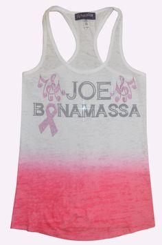 Bonamassa Susan G Tank Top - www.jbonamassa.com #jbonamassa