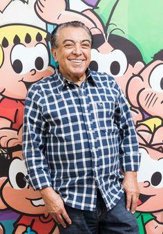 O cartunista Mauricio de Souza, 79 anos, participa do encontro gratuito Segundas Intenções em 21 de fevereiro...