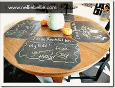 Thanksgiving/Christmas Chalkboard placemats