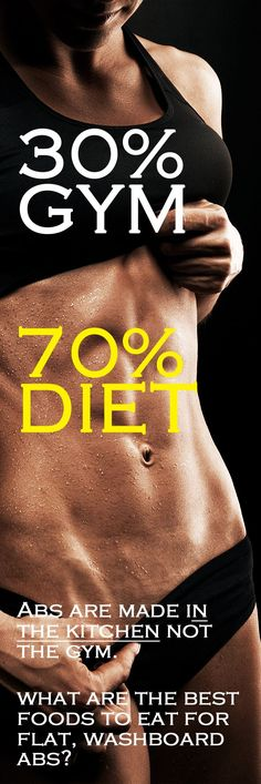 .For some people, the most frustrating part of their body is their BELLY. For some reason they can pull hours each week at the gym and tone the rest of their body just fine, but the annoying tire around their middle just won't deflate. I want to share with you THE REASON your belly is still hiding your abs and give you 19 awesome foods to put in your diet.