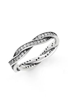 Twist of Fate Pandora Ring. Of course I like the most expensive one
