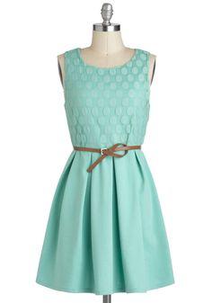 Refine Mint Dress   Mod Retro Vintage Dresses   ModCloth.com
