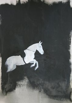 La huella de uno de mis cuadros, esta pieza fue originalmente hecha con acrílico sobre papel.    La imagen mide 8 x 10 está impreso en papel 8.5 x