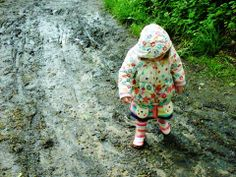 #36 Danyele's second entry to our photography competition. Playing in the mud! www.nationalchildrensdayuk.com