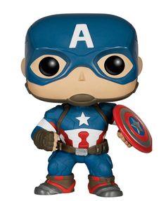 Vinyl Pop Capitão America(Avengers)