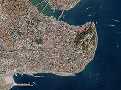 Istanbul captured on September 29, 2016. Image: Terra Bella.