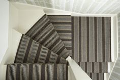Stair Runners, carpet runners, stair rods and hall runners Carpet, Inspiration, Architectural Materials, Hall Runner, Stair Runner, Flat Weave Rug, Wall Coverings, Stair Rods, Living Spaces