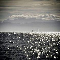Lluvia de estrellas ¿sobre el mar?