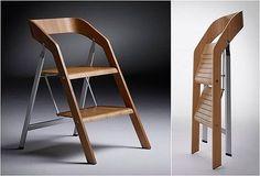 2 en 1: modo silla plegable